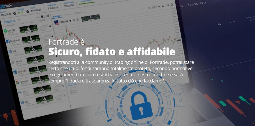 Fortrade piattaforma di Trading Online